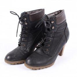 Kotníčkové boty na podpatku