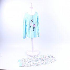 Dívčí pyžamo multikolor s obrázky