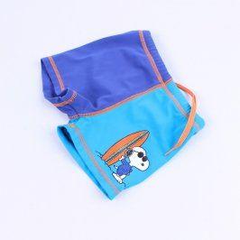 Dětské chlapecké plavky Peanuts modré