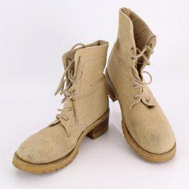 Dámská kotníčková obuv s.Oliver béžová