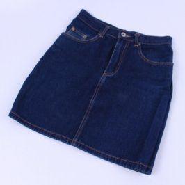 Dámská sukně GAP tmavě modrá
