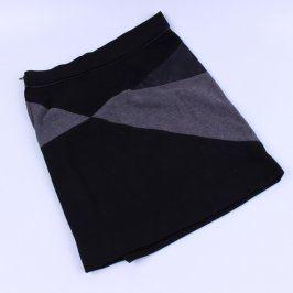 Dámská sukně Flame černo-šedá