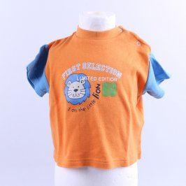 Chlapecké tričko Kids garden oranžové