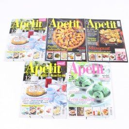 Sada časopisů Apetit a speciály
