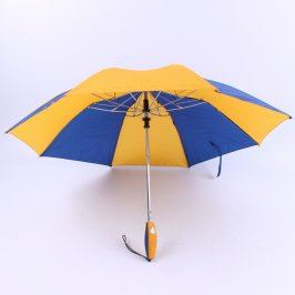 Deštník vystřelovací v barvách a logem EU