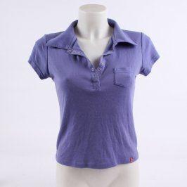 Dámské polo tričko O.N. TANTUM fialové