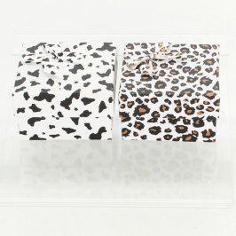 Papírové dárkové krabice s tygrovaným vzorem