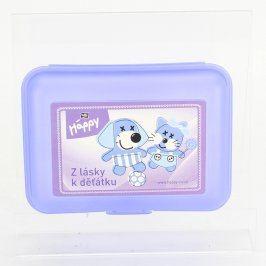 Box na svačinu Bella Baby Happy modrý