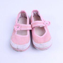 Dětské bačkory Wing růžové