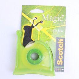 Zásobník s lepící páskou Scotch Magic zelený