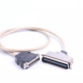 Paralelní kabel k tiskárně šedý délka 100 cm