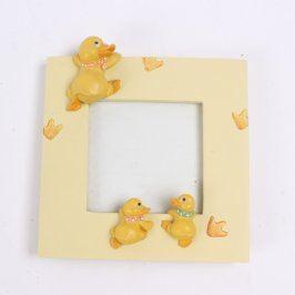 Dětský rámeček s motivem kachniček