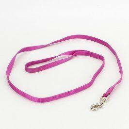 Vodítko pro psa délka 119 cm fialové