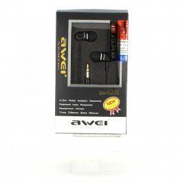 Sluchátka do uší AWEI ES-Q3 černá