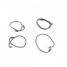 Patch kabely UTP černé různé délky
