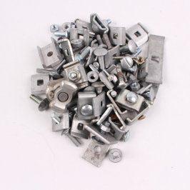 Spojovací materiál kovový více druhů