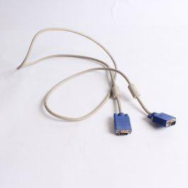 Propojovací kabel VGA bílý délka 185 cm
