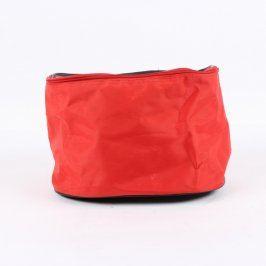 Kosmetická taštička červeno černá