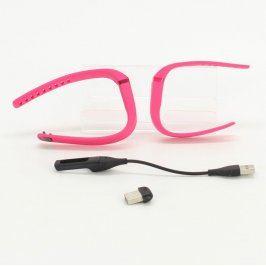 Chytrý náramek Fitbit Flex růžový