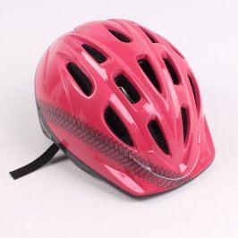Cyklistická helma dětská červená