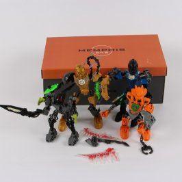 Figurky plastových bojovníků 4 ks