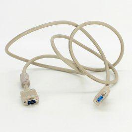 Prodlužovací kabel VGA bílý délka 190 cm