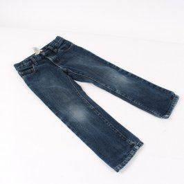 Dětské džíny GAP Kids odstín modré