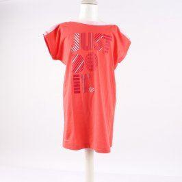 Dívčí tričko Nike Dri-Fit odstín červené