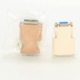 Redukce VGA bílá a hnědá 2 kusy