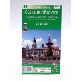 Plán města České Budějovice