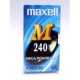 VHS kazeta Maxell M240