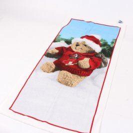 Sada 3 ručníků s vánočním motivem Teka