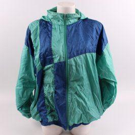 Pánská bunda odstín zelené a modré