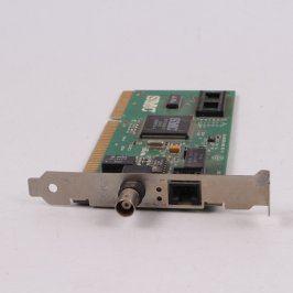 Síťová karta SMC 83C795QF RJ45 + BNC, ISA