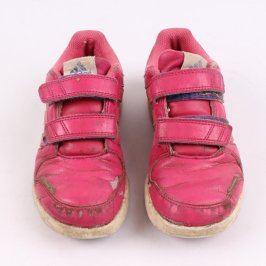 Dívčí boty Adidas růžové barvy