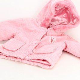 Dětský kabátek George růžový