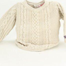 Dětský svetr odstín béžové