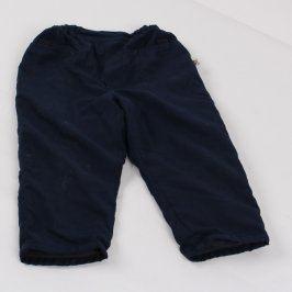 Dětské kalhoty oteplené odstín modré