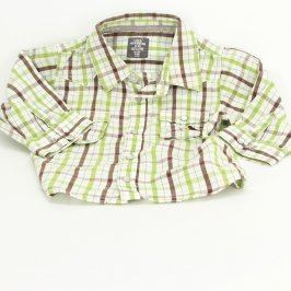 Dětská košile H&M L.O.G.G. bílá s proužky