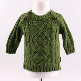 Dětský svetr H&M odstín zelené