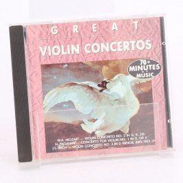 CD Great Violin Concertos