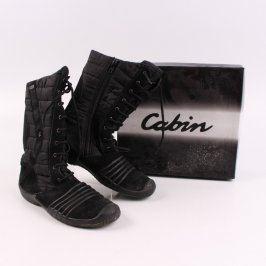 Dámské zimní boty Elefanten černé