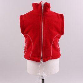 Dětská vesta Gepard červená