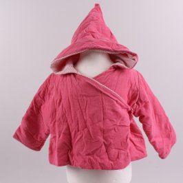 Dětská bunda Petit bateau odstín růžové