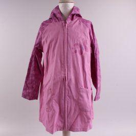 Dětská bunda 32DC nepromokavá odstín fialové