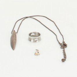 Sada řetízku s přívěskem a prstenem