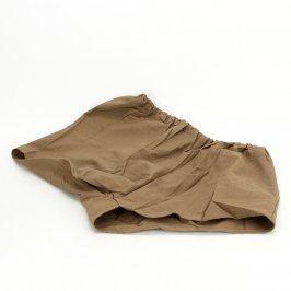 Pánské šortky odstín hnědé