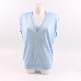 Pánská vesta odstín modré