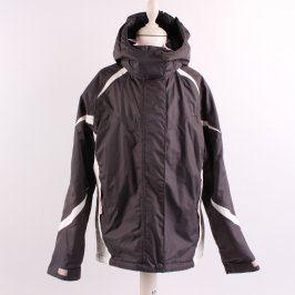 Dívčí bunda Alive černá s bílými prvky