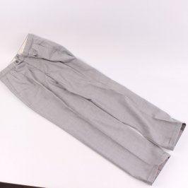 Pánské kalhoty šedé barvy
